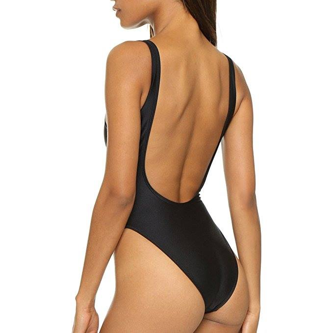Swimsuit Monokini High Waisted (High Cut)