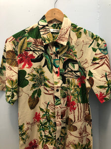 Hawaiian Shirt Hawaiian Flowers