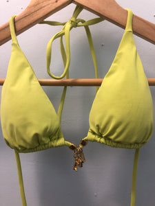 Bikini Top Lime-Green Varied