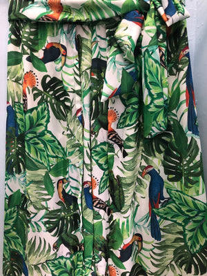 Pant Skirt Rainforest Toucans
