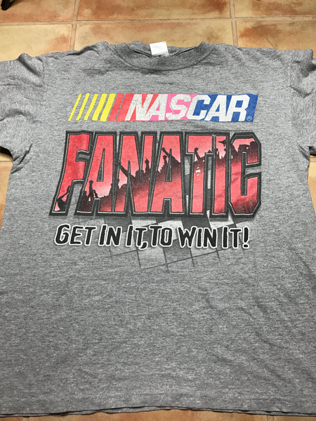 Nascar fanatic shirt sz M