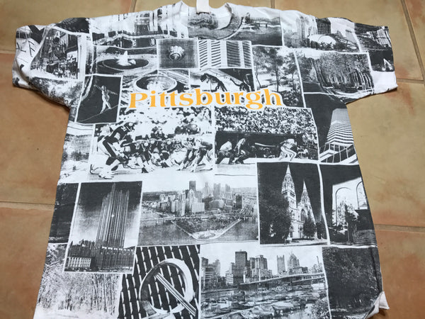 Pittsburg Collage shirt sz L