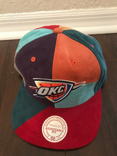 Michell ness OKC colorblock snapback