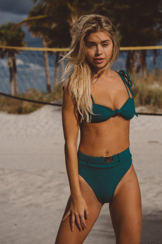 Bella Bottom - Emerald Green
