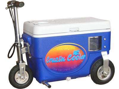 Cooler Scooter 500w By Cruzin Cooler | Blue