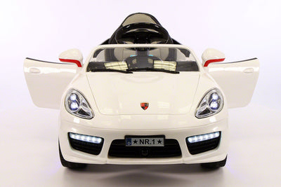 Porsche Boxster Style Ride-On Car by Moderno Kids