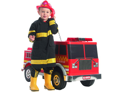 Fire Truck 12v By Kalee | Red - Front View