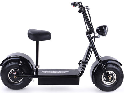 FatBoy 48v 500w Electric Scooter By MotoTec -   Side View