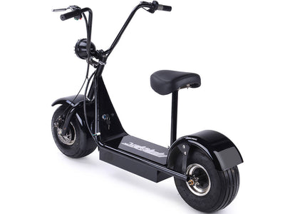 FatBoy 48v 500w Electric Scooter By MotoTec -   Rear Side View