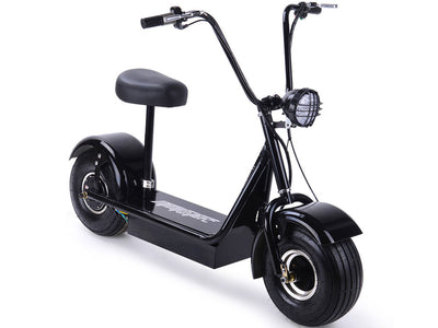 FatBoy 48v 500w Electric Scooter By MotoTec -   Front Side View