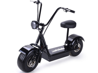 FatBoy 48v 500w Electric Scooter By MotoTec -   Front View