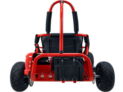 Off Road Go Kart 48v 1000w By MotoTec |  Back View