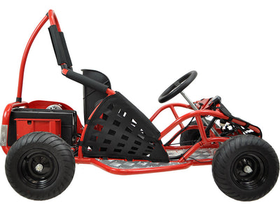 Off Road Go Kart 48v 1000w By MotoTec | Side View