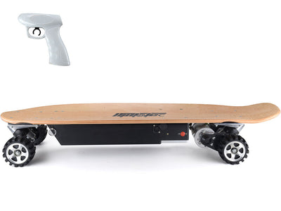 600w Street Electric Skateboard By MotoTec - Side View