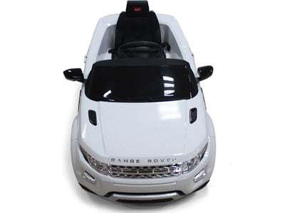Land Rover Evoque Ride-On Car by Rastar - Front Top View
