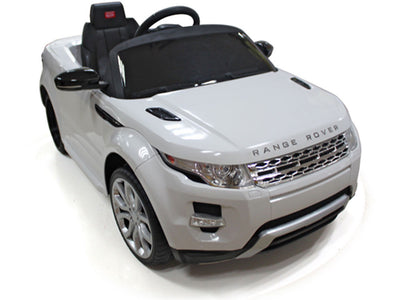 Land Rover Evoque Ride-On Car by Rastar - Front Side View