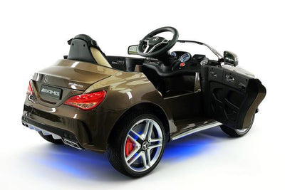 Mercedes CLA45 AMG Ride-On Car by Moderno Kids - Rear Side View