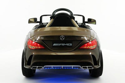 Mercedes CLA45 AMG Ride-On Car by Moderno Kids - Rear View