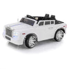 SPORTRAX GHOST STYLE PHANTOM 1 SEATER KIDS 12V RIDE-ON CAR | WHITE