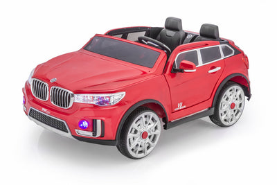 BMW X7 Style Ride-On Car by SPORTrax - Front Side View