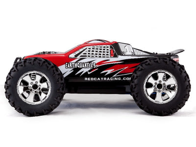 EARTHQUAKE 3.5 RC CAR  - SIDE VIEW