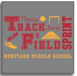 Heritage Middle School Track 2019