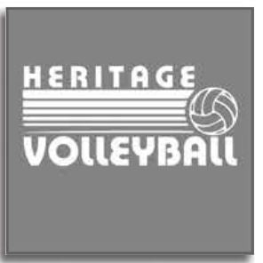 Heritage Middle School Volleyball '20