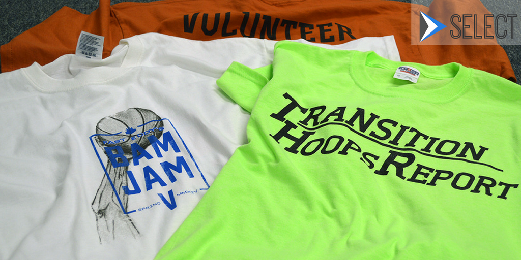 event manager and event tshirts