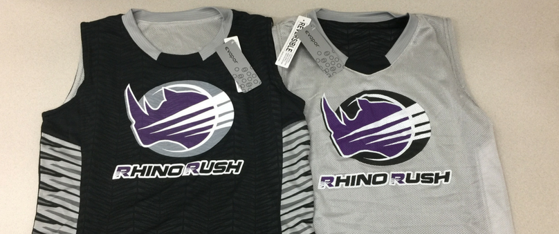 rhino rush jordan reversible basketball jersey