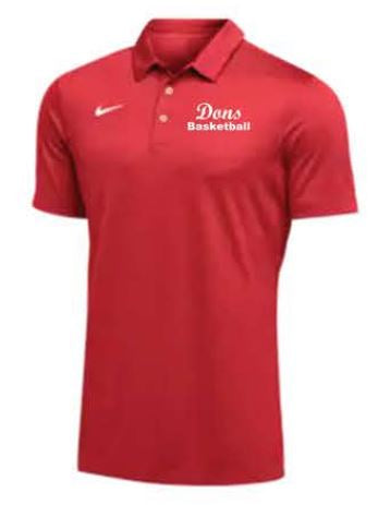 Nike Team S/S Polo - Men's - Red