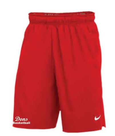 Nike Team Flex Woven Pocket 2.0 Shorts - Red