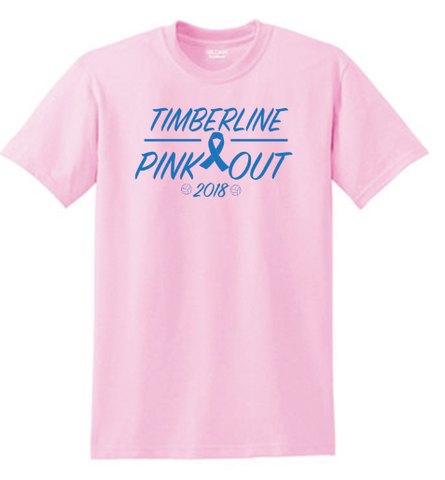 TIMBERLINE PINK OUT SHIRT