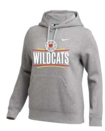 Nike Team Club Fleece Hoodie - Women's - Dark Grey Heather