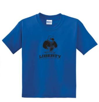 Gildan® - Youth DryBlend® 50 Cotton/50 Poly T-Shirt - Royal