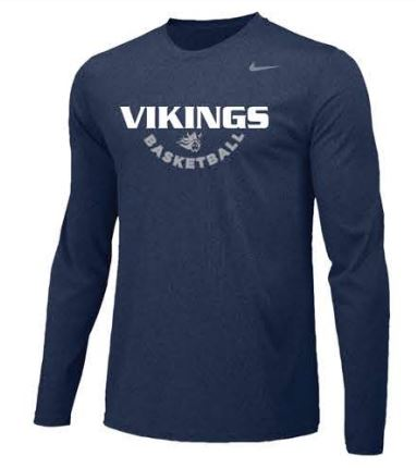 Nike Team Legend Long Sleeve Poly Top - Men's ** A Team Shooting Shirt**