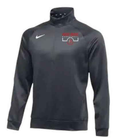 Nike Team Therma 1/4 Zip Top - Anthracite