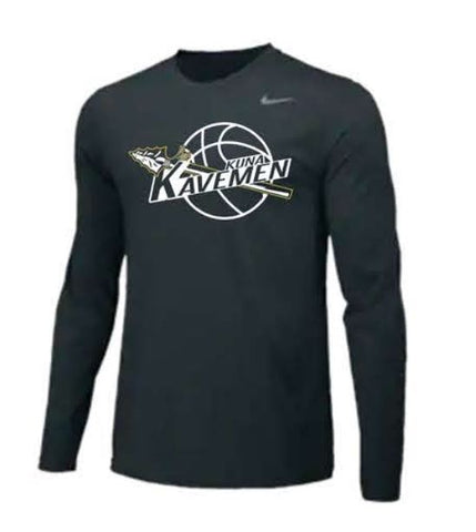 Nike Team Legend Long Sleeve Poly Top - Black