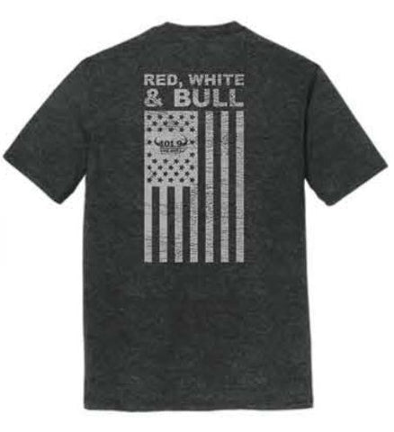Bull Patriot Shirt - Black Frost