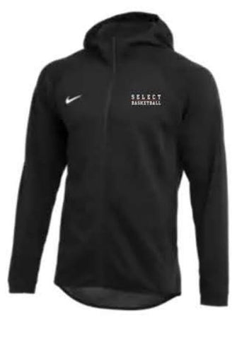 Nike Team Dry Showtime Full-Zip Hoodie - Black