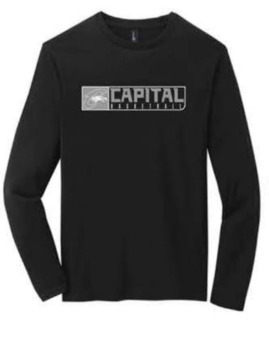 District ® Very Important Tee ® Long Sleeve - Black