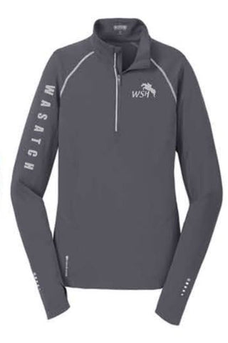 OGIO® ENDURANCE Ladies Nexus 1/4-Zip Pullover - Gear Grey