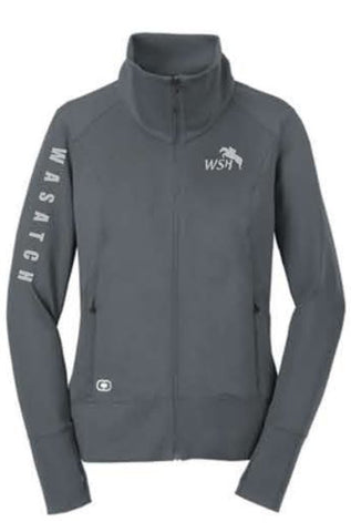 OGIO® ENDURANCE Ladies Fulcrum Full-Zip - Gear Grey