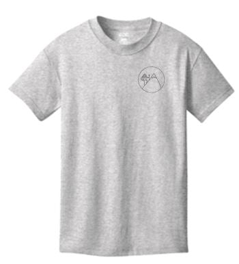 Youth Cotton Tee - Ash
