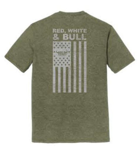 Bull Patriot Shirt - Military Frost