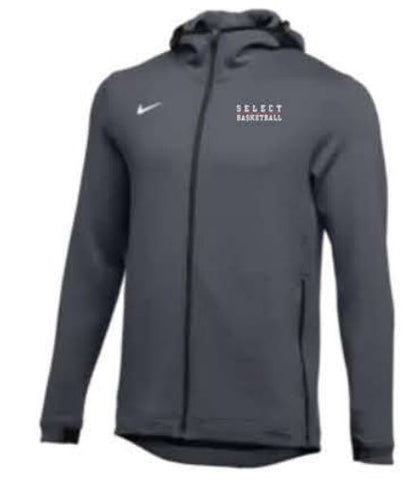 Nike Team Thermaflex Showtime Full-Zip Hoodie - Anthracite