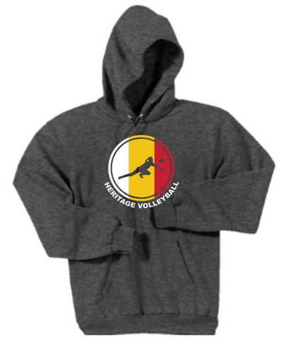 Port & Company® - Youth Core Fleece Pullover Hooded Sweatshirt