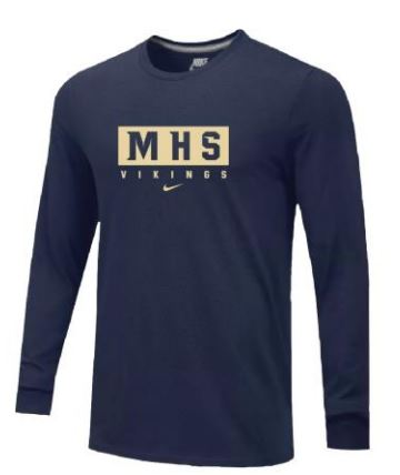 Nike Team Core L/S T-Shirt - Men's