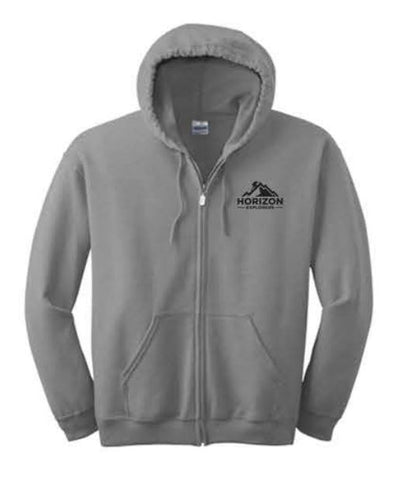 Gildan® - Heavy Blend™ Full-Zip Hooded Sweatshirt - Sport Grey