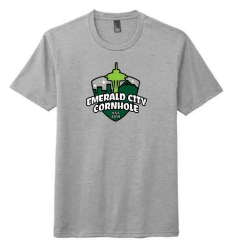 District ® Perfect Tri ® Tee - Heathered Grey