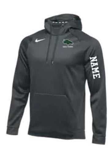 Nike Team Therma Hoodie - Men's - Anthracite